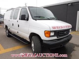 Used 2007 Ford E250 VANS  CARGO VAN for sale in Calgary, AB