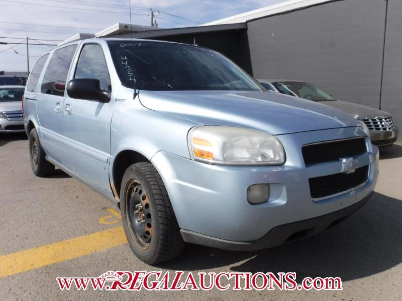 Photo of Blue 2007 Chevrolet UPLANDER  4D EXT WAGON