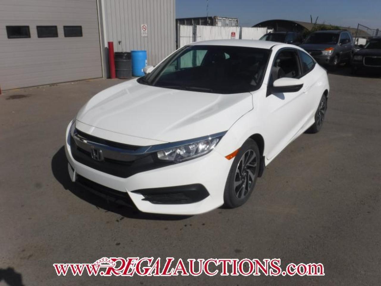 Photo of White 2016 Honda Civic