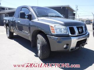 Used 2007 Nissan TITAN  KING CAB for sale in Calgary, AB