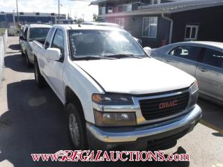 Used 2010 GMC Canyon EXT Cab 4WD for sale in Calgary, AB