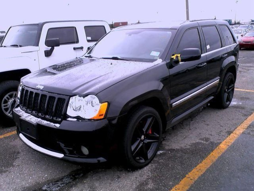 used 2010 jeep grand cherokee srt8 for sale in york ontario. Black Bedroom Furniture Sets. Home Design Ideas