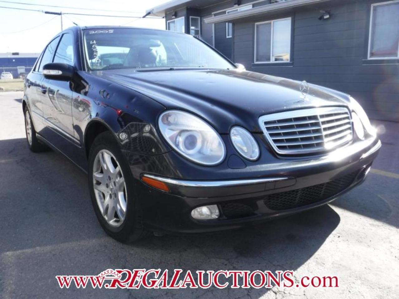 Photo of Black 2005 Mercedes-Benz E-CLASS E320W 4D SEDAN 4MATIC