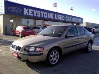 Used 2004 Volvo S60 2.5T Sedan for sale in Winnipeg, MB