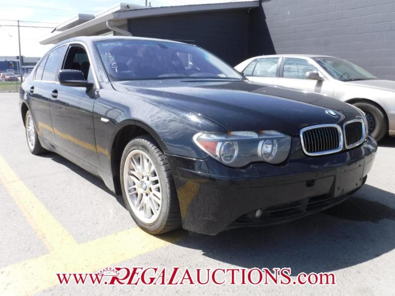 Photo of Black 2003 BMW 7 SERIES 745I 4D SEDAN