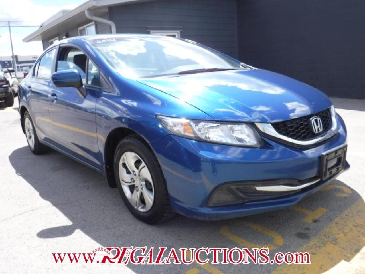 Photo of Blue 2014 Honda CIVIC LX 4D SEDAN 5SP