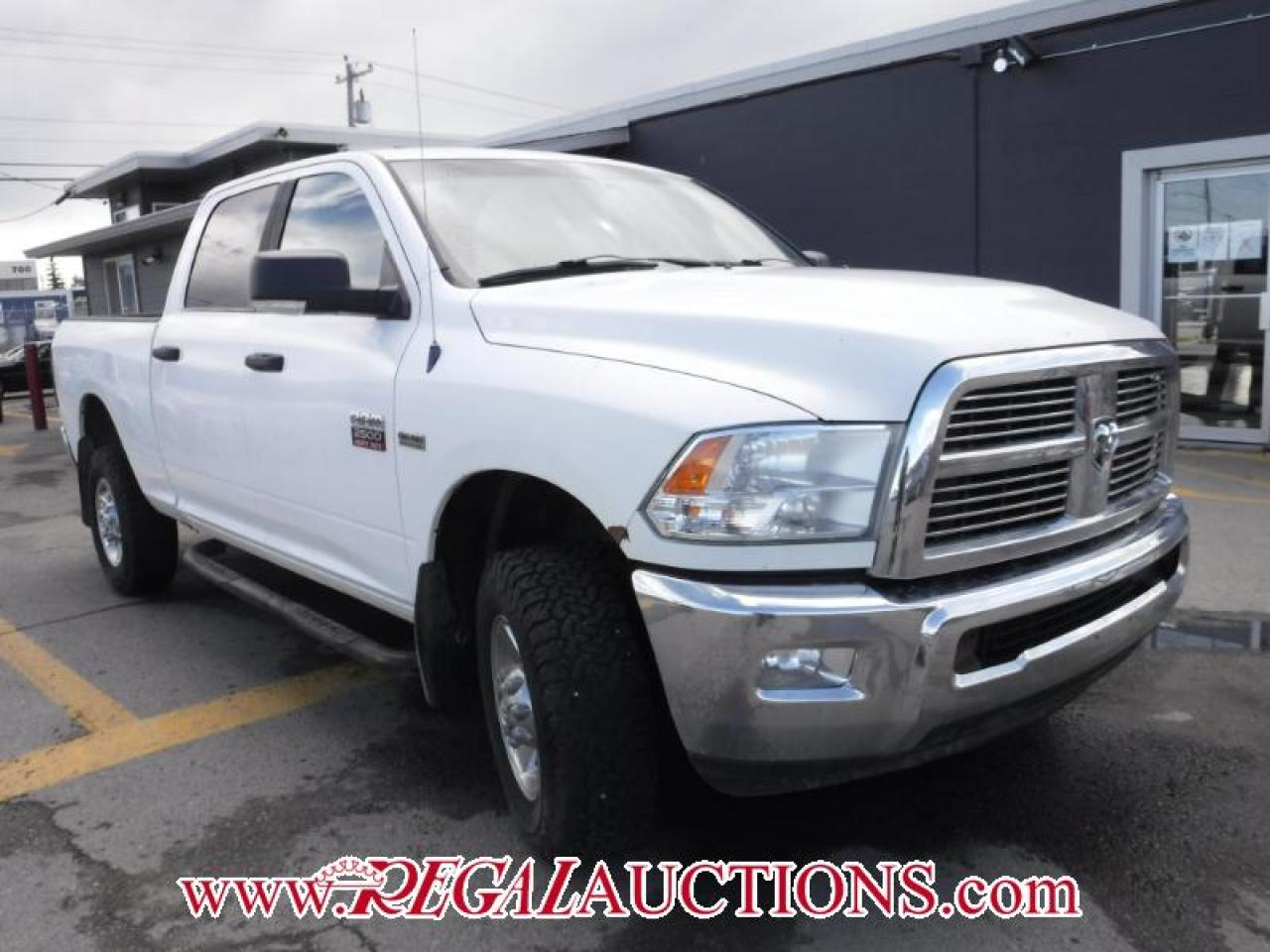 Photo of White 2010 Dodge RAM 2500  CREW CAB