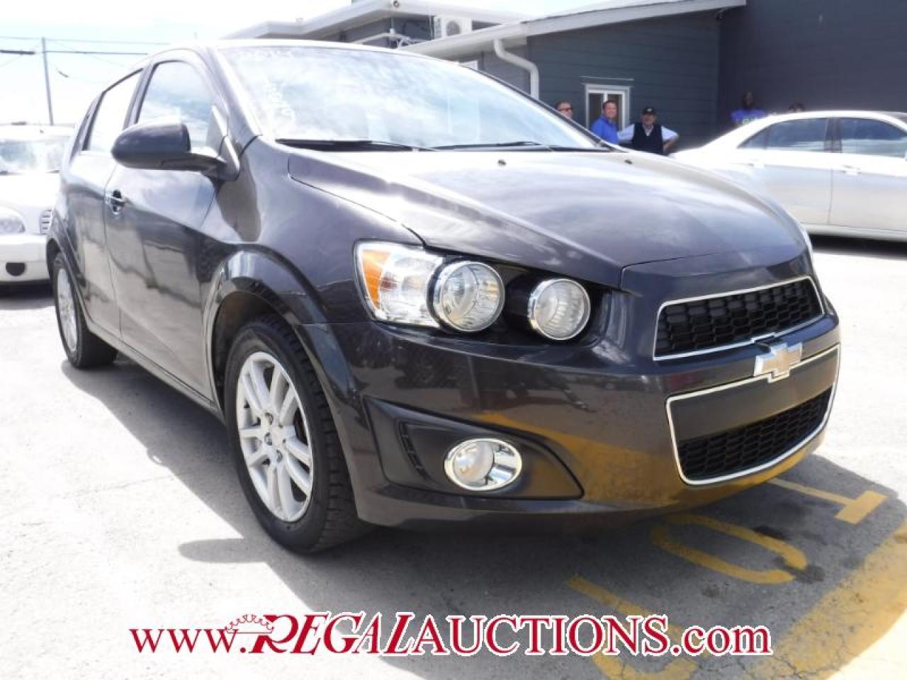 Photo of Brown 2014 Chevrolet SONIC LT 5D HATCHBACK AT