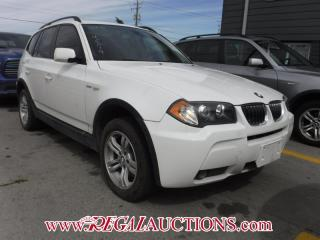 Used 2006 BMW X3 4D Utility 3.0I AWD for sale in Calgary, AB