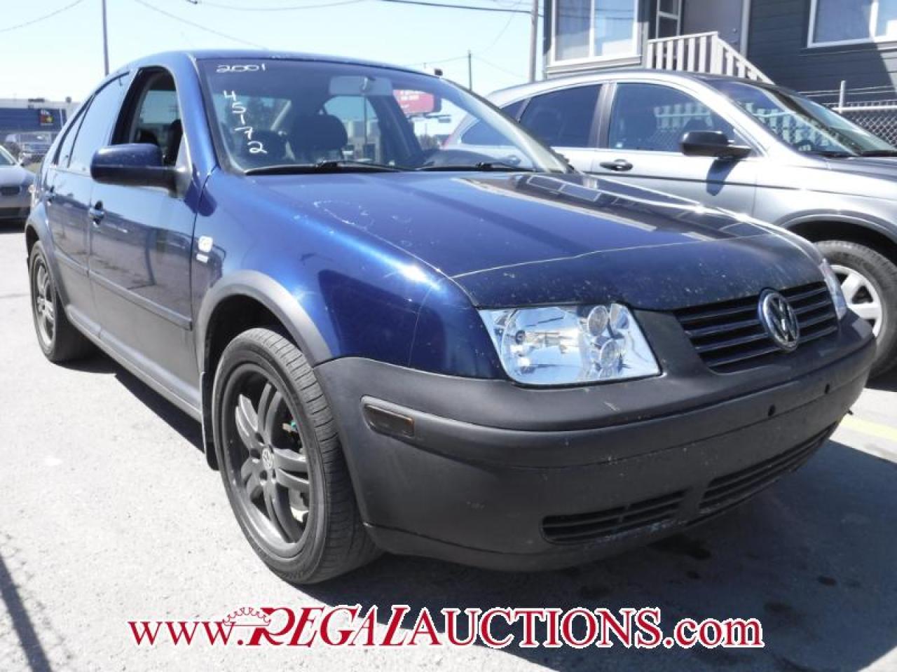 Photo of Blue 2001 Volkswagen JETTA WOLFSBURG 4D SEDAN