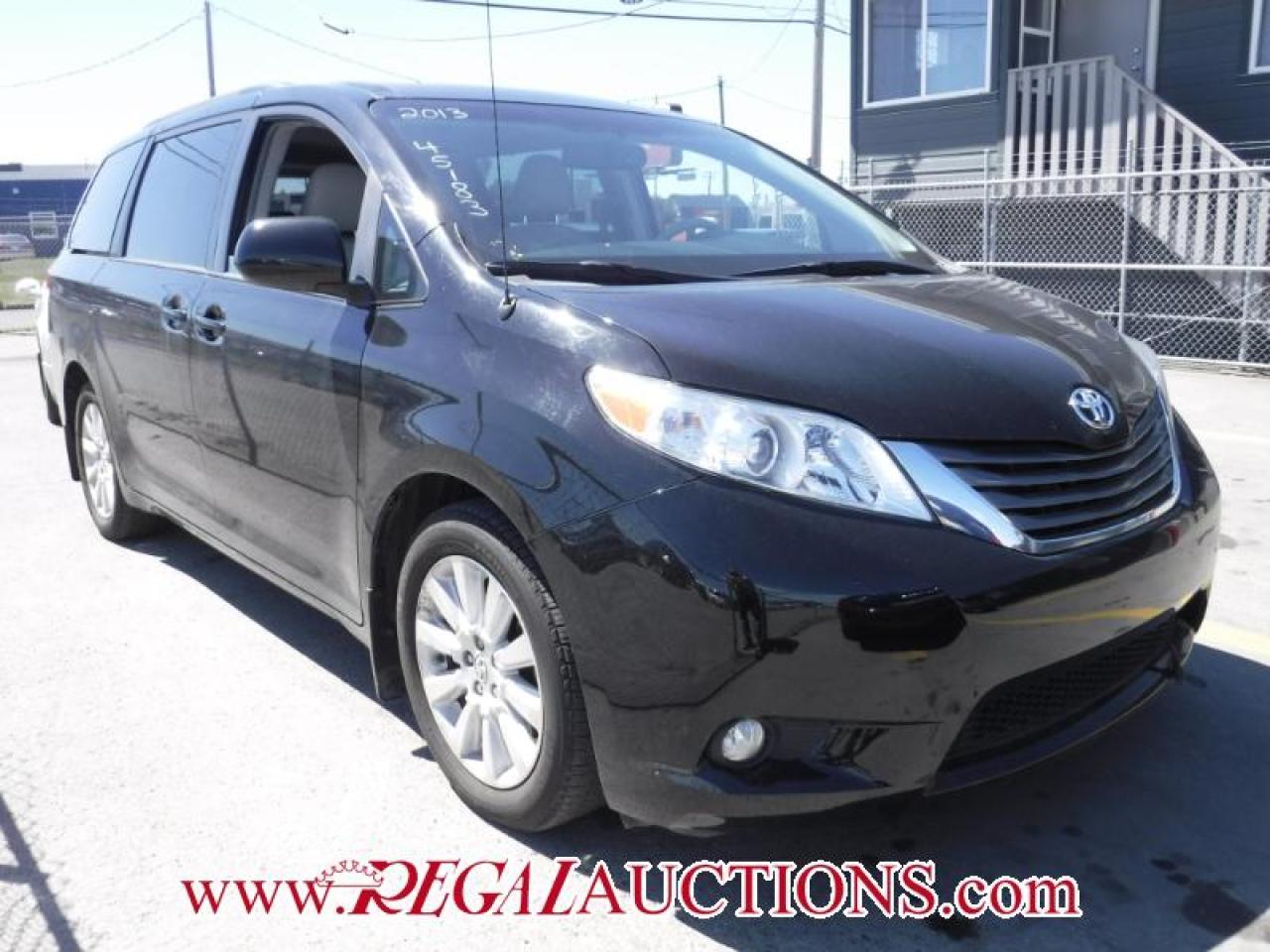 Photo of Black 2013 Toyota SIENNA XLE 4D WAGON 7 PASS