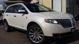 Used 2012 Lincoln MKX LIMITED AWD - LEATHER! NAVIGATION! BACK-UP CAM! PANO ROOF! BSM! for sale in Kitchener, ON