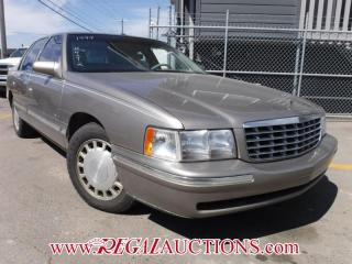 Used 1999 Cadillac DEVILLE BASE 4D SEDAN for sale in Calgary, AB