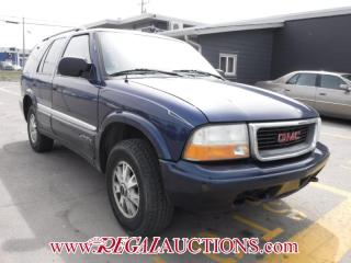 Used 2001 GMC JIMMY  4D UTILITY for sale in Calgary, AB