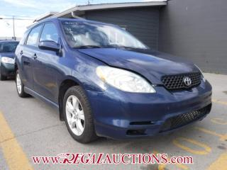 Used 2003 Toyota MATRIX XR 4D HATCHBACK AWD for sale in Calgary, AB