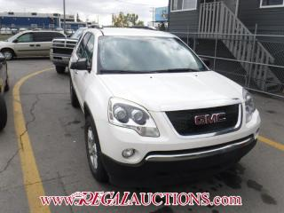 Used 2008 GMC Acadia 4D Utility for sale in Calgary, AB