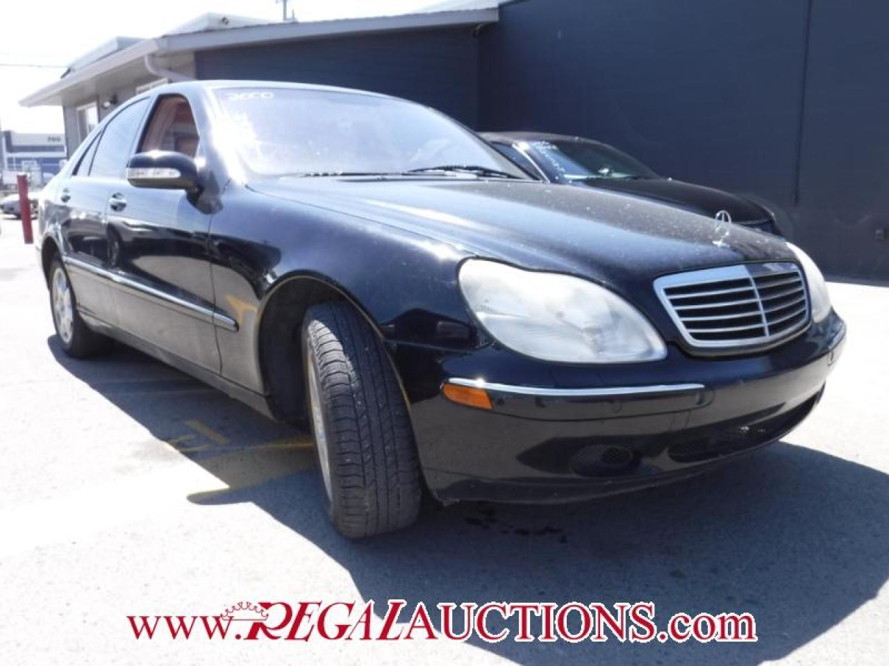Photo of Black 2000 Mercedes-Benz S-CLASS S500 4D SEDAN