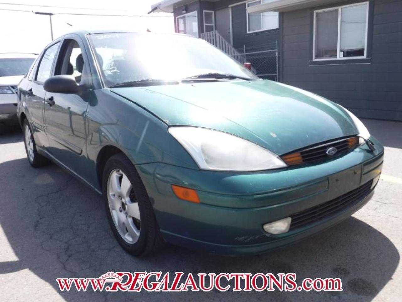 Photo of Green 2001 Ford FOCUS ZTS 4D SEDAN