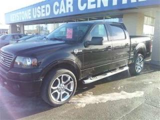 Used 2008 Ford F-150 Harley Davidson CREW for sale in Winnipeg, MB