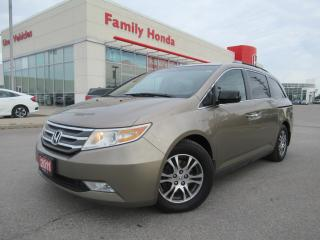 Used 2011 Honda Odyssey EX | REAR ENTERTAINMENT | for sale in Brampton, ON