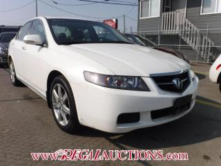 Used 2005 Acura TSX 4D Sedan for sale in Calgary, AB