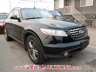 Used 2005 Infiniti FX35 4D Utility AWD for sale in Calgary, AB