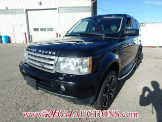 Used 2009 Land Rover Range Rover Sport Supercharged 4D Utility 4WD 4.2L for sale in Calgary, AB