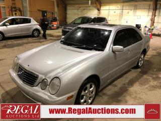 Used 2002 Mercedes-Benz E-Class E320 4D Sedan 4MATIC AWD for sale in Calgary, AB
