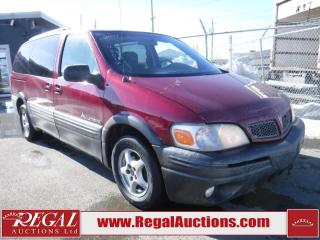 Used 2004 Pontiac Montana 4D EXT WAGON for sale in Calgary, AB
