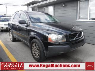 Used 2005 Volvo XC90 4D Utility AWD for sale in Calgary, AB