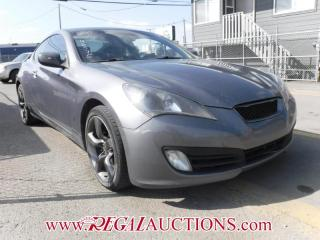 Used 2010 Hyundai Genesis Coupe 2.0T 2D Coupe for sale in Calgary, AB