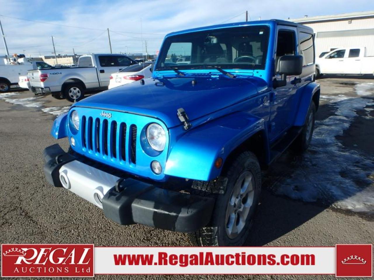 Photo of Blue 2014 Jeep Wrangler