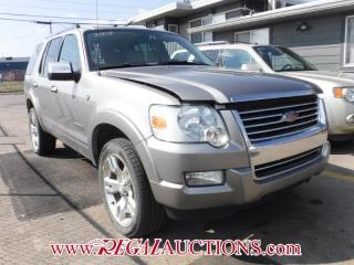 Used 2008 Ford Explorer Limited 4D Utility AWD for sale in Calgary, AB