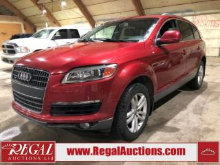 Used 2007 Audi Q7 4D Utility 4.2 AWD for sale in Calgary, AB