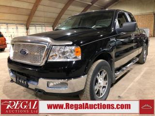 Used 2005 Ford F-150 LARIAT SuperCab 4WD for sale in Calgary, AB