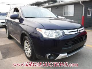 Used 2015 Mitsubishi Outlander ES AWC 4D Utility AWD for sale in Calgary, AB