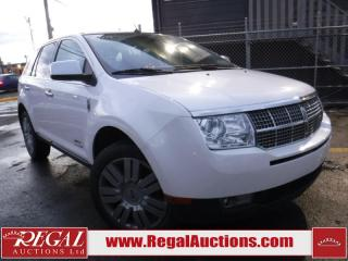Used 2009 Lincoln MKX Limited Edition 4D Utility AWD for sale in Calgary, AB
