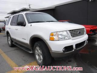 Used 2004 Ford Explorer Eddie Bauer 4D Utility 4WD for sale in Calgary, AB