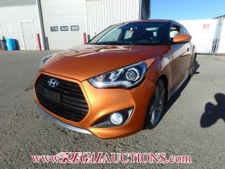 Used 2014 Hyundai VELOSTER TURBO 2D COUPE 6SP 1.6L for sale in Calgary, AB