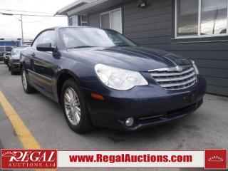 Used 2008 Chrysler Sebring Touring 2D Convertible FWD for sale in Calgary, AB