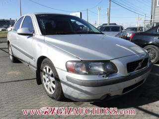 Used 2001 Volvo S60 4D Sedan 2.4L for sale in Calgary, AB