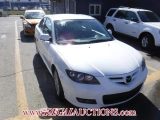 Used 2008 Mazda MAZDA3 4D Sedan for sale in Calgary, AB