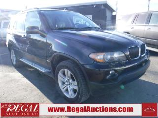 Used 2006 BMW X5 4D Utility 3.0I for sale in Calgary, AB