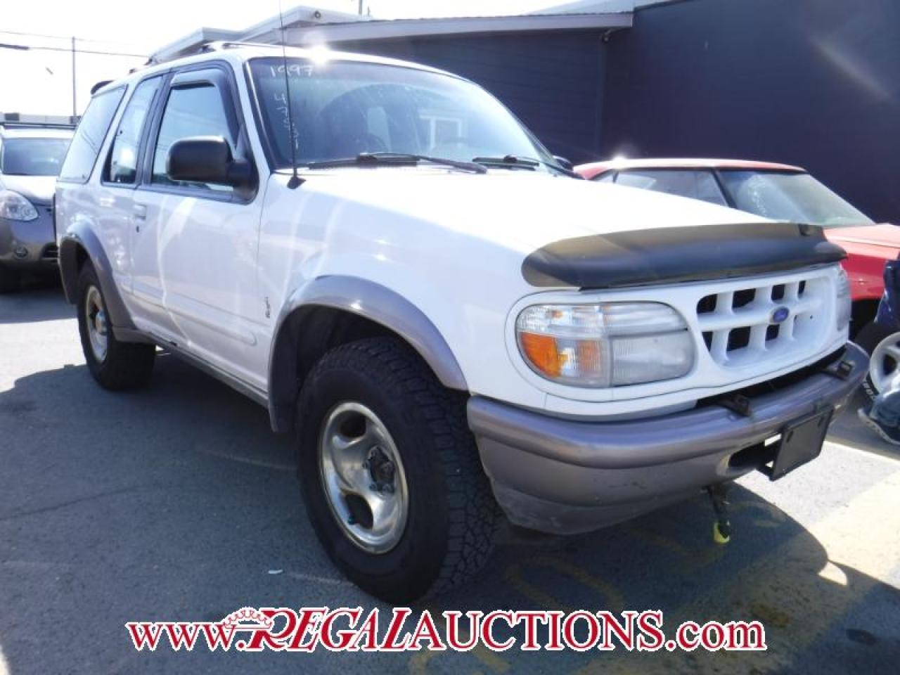Photo of White 1997 Ford Explorer