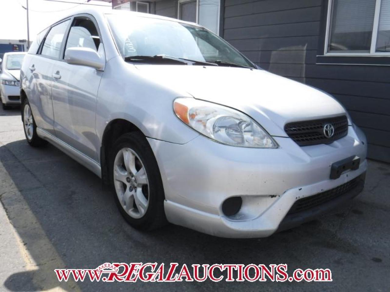 Photo of Silver 2005 Toyota Matrix