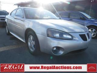 Used 2007 Pontiac Grand Prix Base 4D Sedan for sale in Calgary, AB