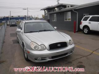 Used 2002 Hyundai Sonata GL 4D Sedan for sale in Calgary, AB