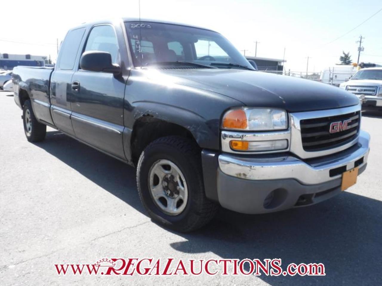 Photo of Grey 2003 GMC Sierra 1500
