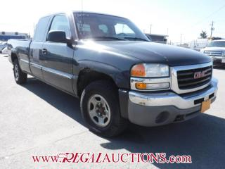 Used 2003 GMC Sierra 1500 4D EXT CAB 4WD for sale in Calgary, AB