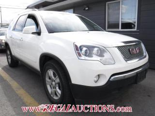 Used 2012 GMC Acadia SLE2 4D Utility AWD for sale in Calgary, AB